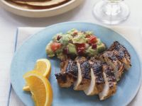 Grilled Chicken with Guacamole