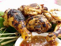 Glazed BBQ Chicken recipe