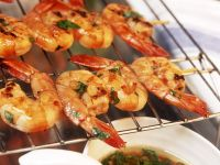 Grilled Chile Shrimp Skewers recipe
