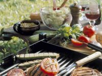 Grilled Chops with Vegetables recipe