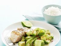 Cool Salad with White Fish recipe