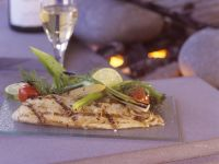 Grilled Cod with Fennel and Lime recipe