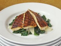 Grilled Fish and Bok Choy recipe