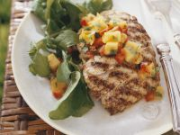Grilled Fish with Mango Salsa recipe