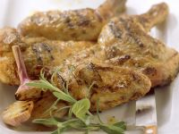 Grilled Garlic and Herb Chicken recipe