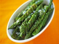 Grilled Green Asparagus recipe