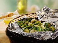 Grilled Green Veggies recipe