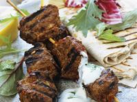 Grilled Lamb Skewers recipe