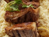 Grilled Lamb with Couscous recipe
