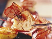 Grilled Lobster with Lemon and Butter recipe