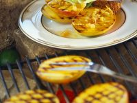 Grilled Mango with Pineapple Sauce recipe