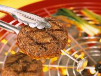 Grilled Meat Patties recipe