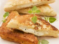 Grilled Mozzarella Toast recipe