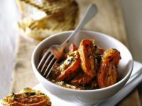 Grilled Plum Tomato Halves recipe