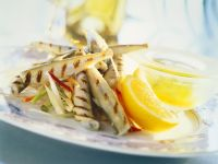 Grilled Sand Eels recipe