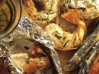 Grilled Sardines, Shrimp and Redfish recipe