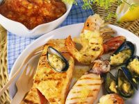 Grilled Seafood with Salsa recipe