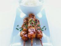Grilled Spicy Chicken Skewers recipe
