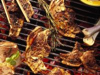 Grilled Steak and Lamb recipe