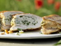Grilled Stuffed Chicken Breasts recipe