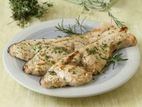 Grilled Swordfish with Herb Marinade recipe