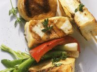 Grilled Tofu and Vegetable Skewers recipe