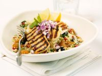 Grilled Turkey Breast with Couscous Salad recipe