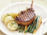 Grilled Veal Chops recipe
