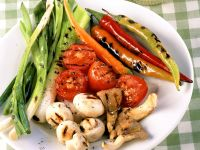 Grilled Vegetables with Aioli recipe