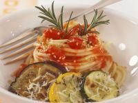 Grilled Veggie Spaghetti recipe