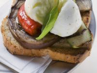 Grilled Veggie Toasts recipe