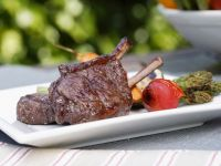 Grilled Venison and Vegetables recipe