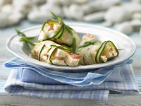 Grilled Zucchini Rolls recipe