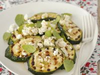 Grilled Zucchini with Feta Cheese recipe