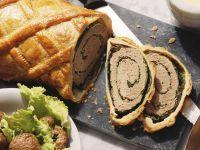 Ground Beef and Savoy Cabbage Strudel recipe
