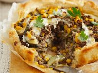 Ground Beef and Vegetable Pie