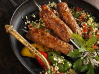 Minced Lamb Kebabs recipe