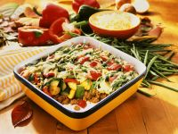 Ground Meat-Vegetable Gratin recipe
