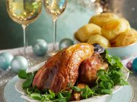 Guinea Fowl Filled with Veal Sausagemeat recipe