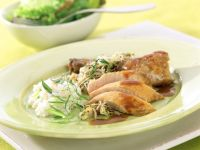Guinea Fowl with Sprouts recipe