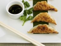 Gyoza with Dip recipe