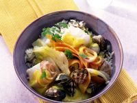 Haddock and Clam Stew with Fennel and Carrots recipe