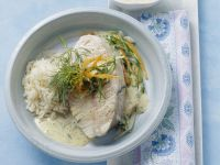 Haddock with Dill and Mustard Sauce recipe