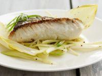 Haddock with Endive Salad recipe