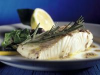 Halibut Fillet with Herbs recipe