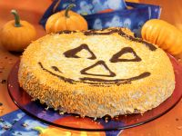 Halloween Carrot-pumpkin Cake recipe