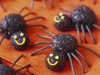 Halloween Spider Truffles recipe