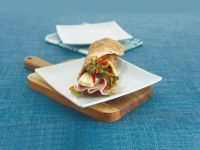 Ham and Brie Wraps recipe