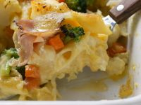Ham and Broccoli Cheesy Pasta Bake recipe