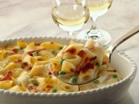 Ham and Cheese Pasta Bake recipe